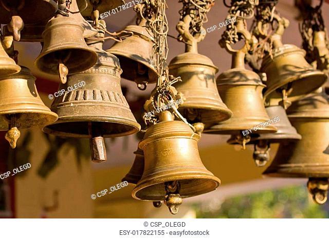 Hindu temple bell