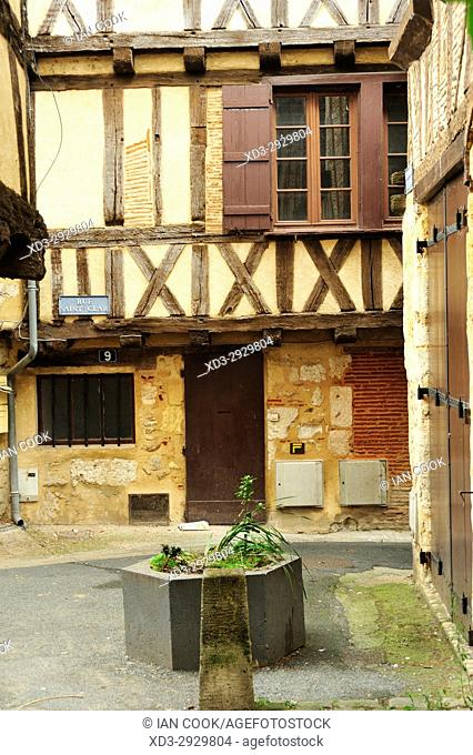 old town, Bergerac, Dordogne Department, New Aquitaine, France