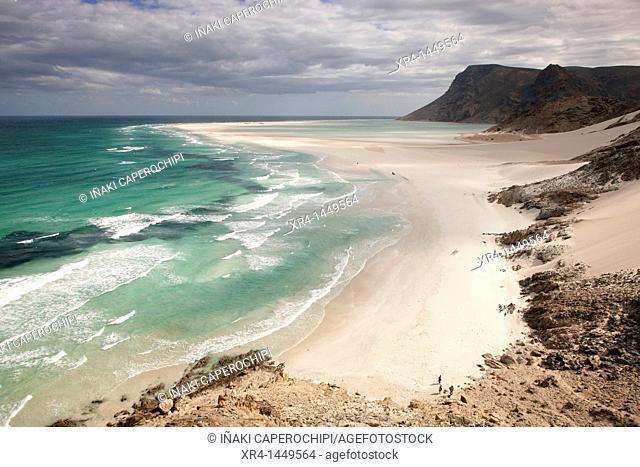 Qalansiyah beach, Soqotra Island, Qalansiyah Bay, Hadramawt, Yemen