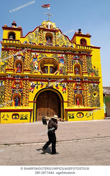 San Andres Xecul church, Guatemala