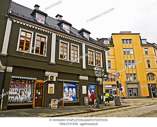 Buildings in Bergen, Norway