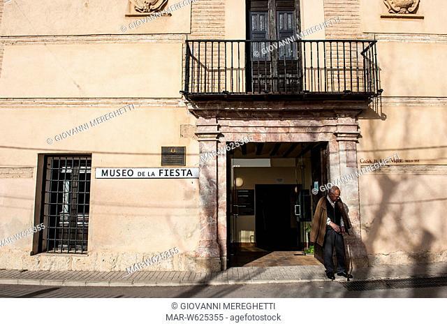 Spain, Murcia region, Caravaca de la Cruz, de la fiesta museum
