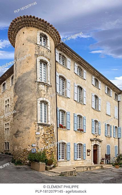 17th century château de la Palud-sur-Verdon, Alpes-de-Haute-Provence en région Provence-Alpes-Côte d'Azur, France