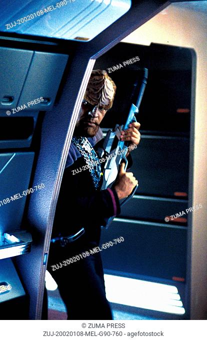 Jan 08, 2002; Hollywood, CA, USA; MICHAEL DORN stars as Lt. Commander Worf in the thrilling sci-fi adventure 'Star Trek' Nemesis directed by Stuart Baird
