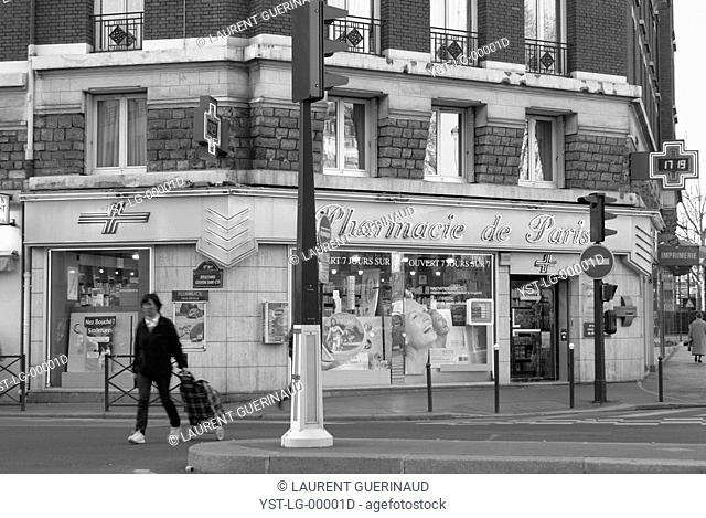 Place de la Porte de Champerret, 17° arrondissement, Ile-de-France, Paris, France
