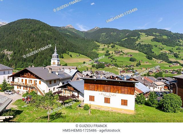 France, Savoie, Beaufortain region, Areches