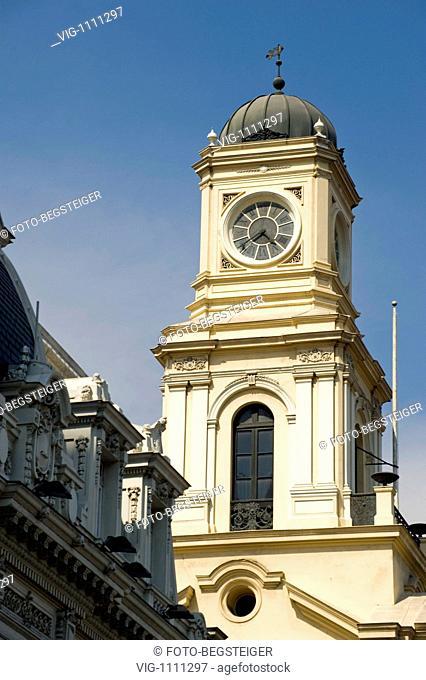 Plaza de Armas, Santiago de Chile - Santiago de Chile, Chile, 04/02/2009