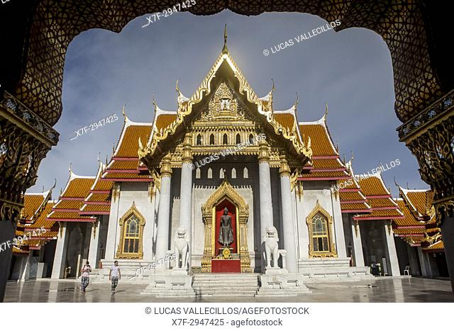 Wat Benchamabophit temple, Bangkok, Thailand