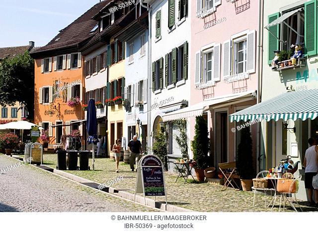 Staufen in the Breisgau Baden-Württemberg Baden-Wuettemberg Germany pedestrian area