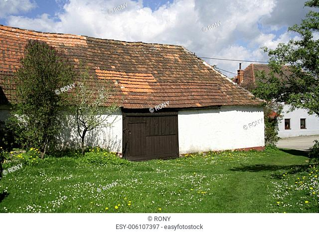 Barn, south Bohemia, Czech republic
