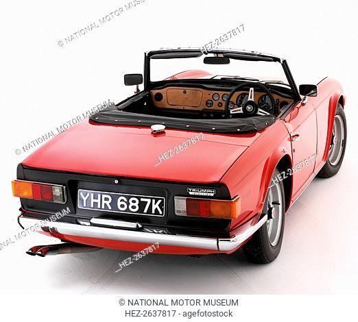 1972 Triumph TR6. Artist: Unknown
