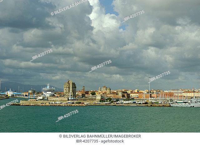 Ferry port of Livorno, Tuscany, Italy