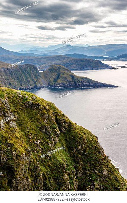 Cliffs, Runde Island, Norway