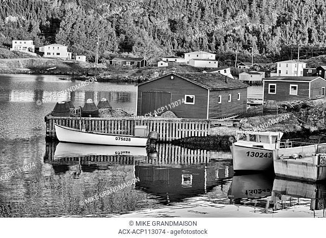 Coastal fishing village, Salvage, Newfoundland & Labrador, Canada