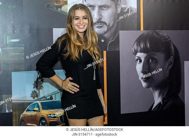 """CARLOTA BOZA, Spanish actress, in the presentation of """"""""La Octava Dimension"""""""", a short film produced by Audi and written and directed by Kike Maíllo"""