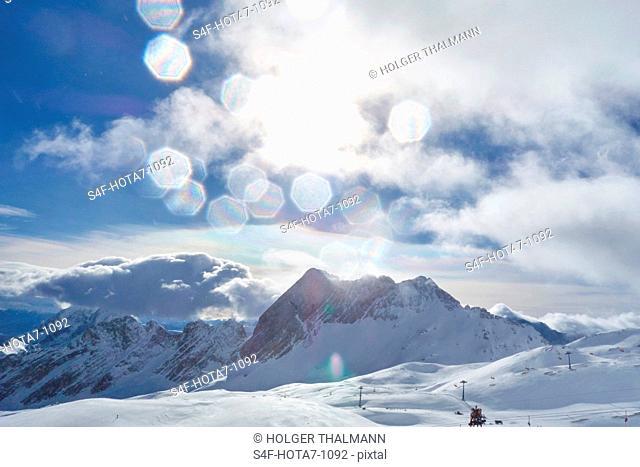 Deutschland, Bayern, Winterlandschaft in den Alpen