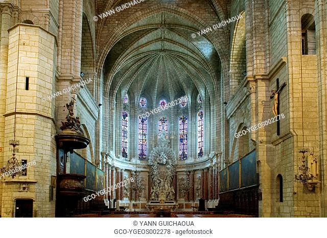 Sant Peter Cathedral, Montpellier,Herault, France