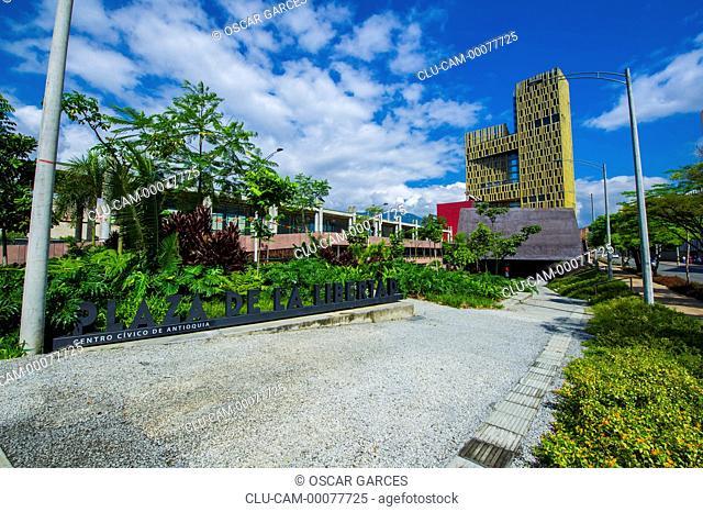 Square of the Medellin Freedom, Medellin, Antioquia, Colombia
