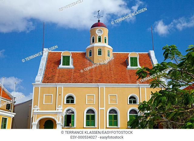 Fort Nassau in Punda, Willemstad, Curacao, Netherland Antilles