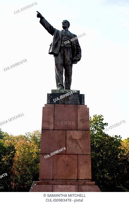Lenin statue, Brest, Belarus