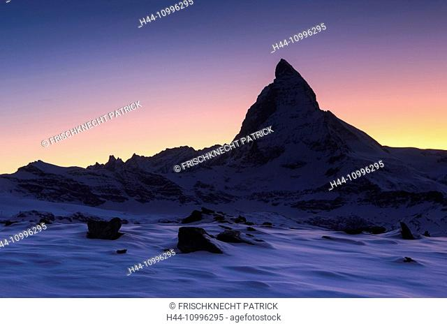 Matterhorn - 4478 ms, Zermatt, Valais, Switzerland