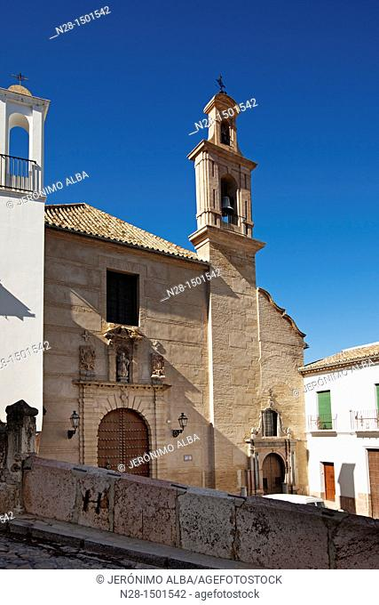 Church Convent and Plazuela of Santo Domingo, Antequera, Malaga Province, Andalusia, Spain