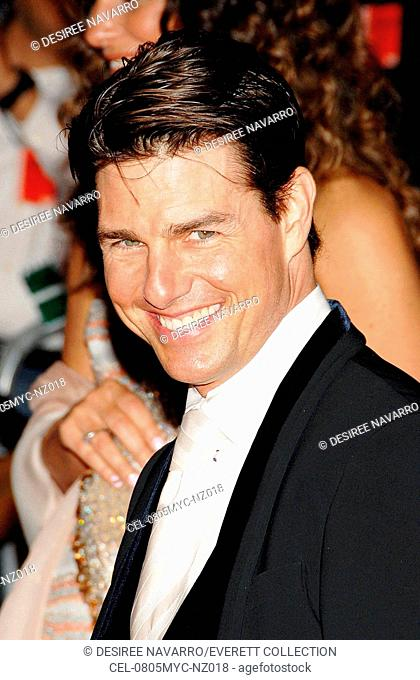 Tom Cruise at departures for Annual Opening Night Gala of Superheroes: Fashion and Fantasy, Metropolitan Museum of Art Costume Institute, New York, NY, May 05