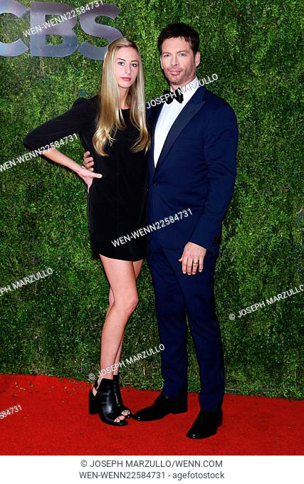 The 69th Annual Tony Awards held at Radio City Music Hall - Arrivals Featuring: Georgia Tatum Connick Jr., Harry Connick Jr