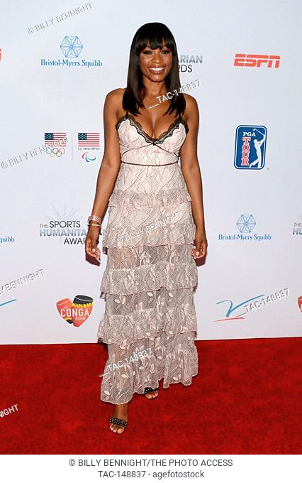 Cari Champion attends the 3rd Annual Sports Humanitarian of the Year Awards at LA LIVE'S The Novo in Los Angeles on July 11, 2017