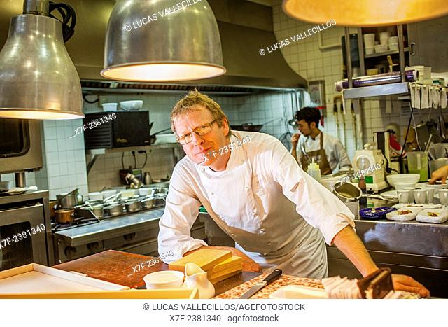 Bernd Knöller, chef of the Riff restaurant,18 Conde Altea.Valencia, Spain