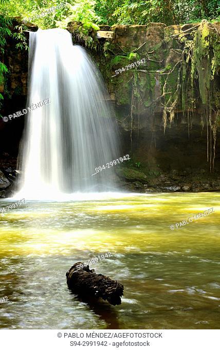 Waterfall of Sen Monorom, Mondulkiri, Cambodia