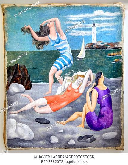 """Les Baigneuses"", 1918, Pablo Picasso, Picasso Museum, Paris, France, Europe"