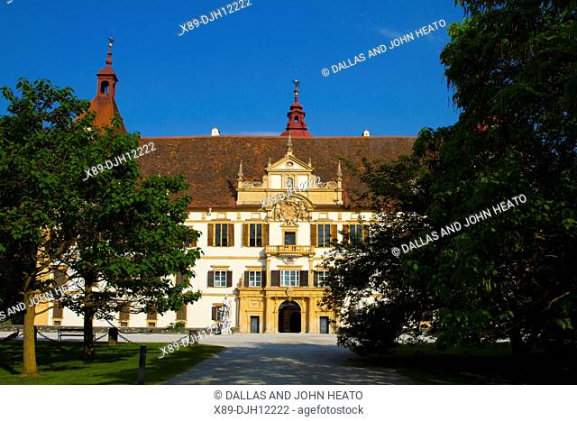 Austria, Styria, Graz, Eggenberg Castle