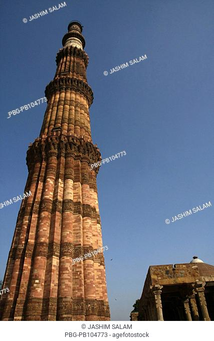 Qutub Minar is the tallest brick minaret in the world at 72 5 meters with 376 steps-was built in 1193 by Muslim Sultan Qutub-ud-din Albak to commemorate the...