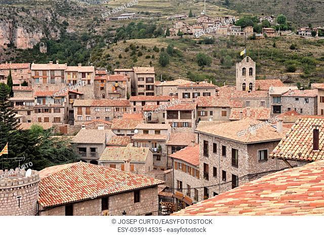 Village of Castellar de N hug in Barcelona province