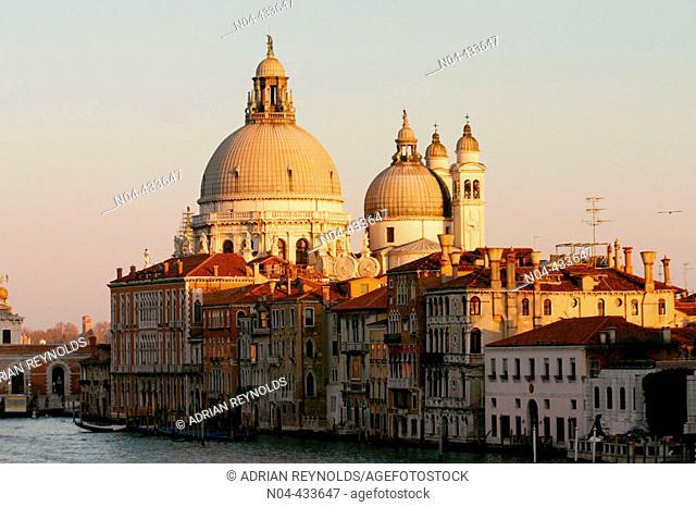 Church of Santa Maria della Salute, Venice. Veneto, Italy