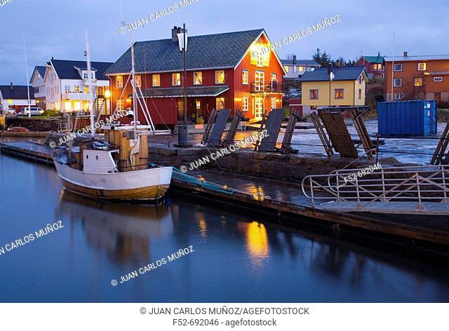 North Sea. Lofoten Islands, Norway, Europe