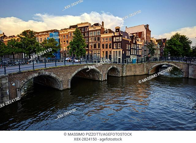 Keizersgracht Canal in Amsterdam, Netherlands