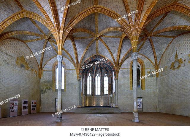 France, Haute Garonne, Toulouse, Jacobin convent, cloister, Saint Antonin chapel