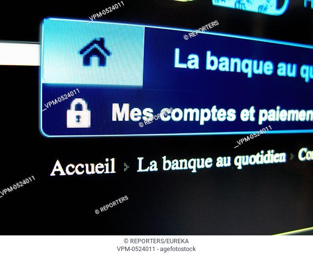 Protection des donnees bancaires, bankgegevens beschermen,Piratage informatique et cybercriminalite Reporters / EUREKA