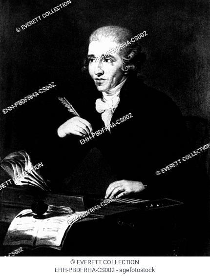 Classical composer Franz Josef Hayden. 1732-1809. Courtesy: CSU Archives/Everett Collection