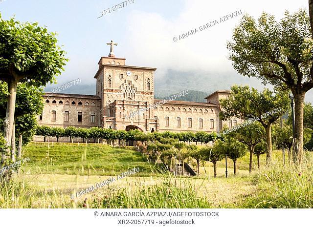 Olatz's church, Azpeitia, Basque Country
