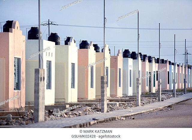 Mexican housing development, Akumal, Mexico