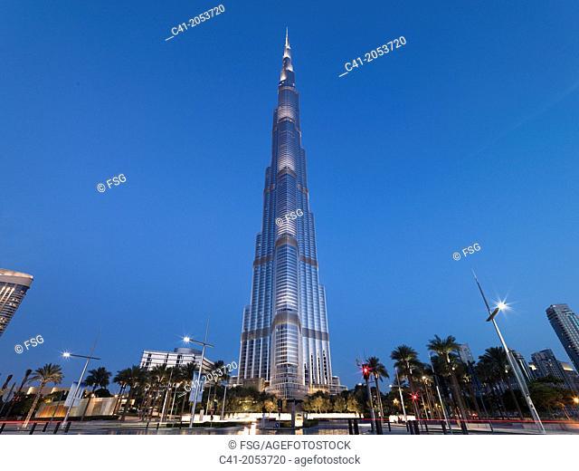 Burj Khalifa. Dubai, UAE