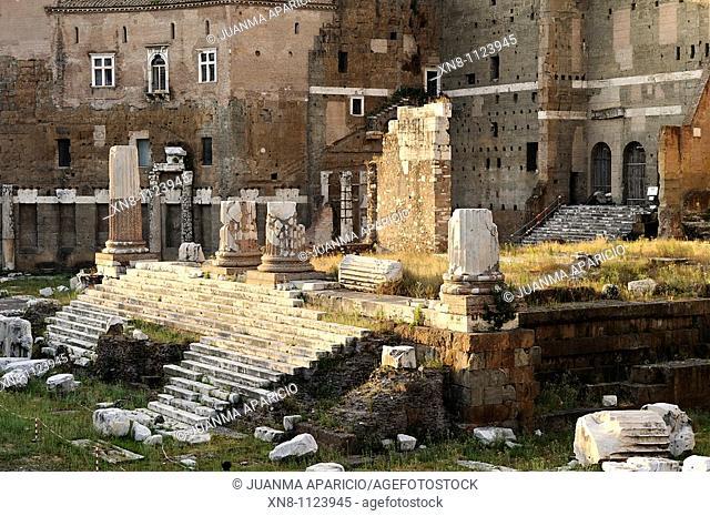 View of Trajan Forum, Rome