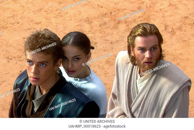 Star Wars: Episode II - Angriff der Klonkrieger, (STAR WARS: EPISODE II - ATTACK OF THE CLONES) USA 2002, Regie: George Lucas, HAYDEN CHRISTENSEN