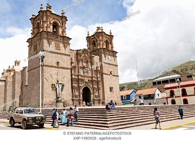 Catedral, Cathedral, Puno, Peru