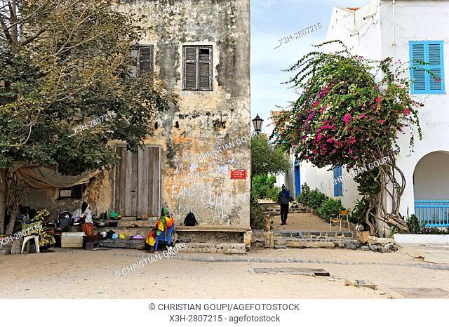 Ile de Goree (Goree Island), Dakar, Senegal, West Africa