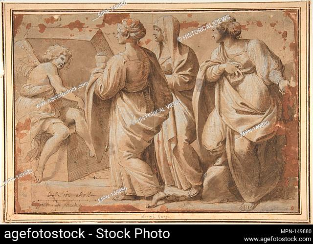 The Holy Women at the Sepulchre. Artist: Sisto Badalocchio (Italian, Parma 1585-after 1619 Rome or Parma); Former Attribution: Formerly attributed to Luigi...