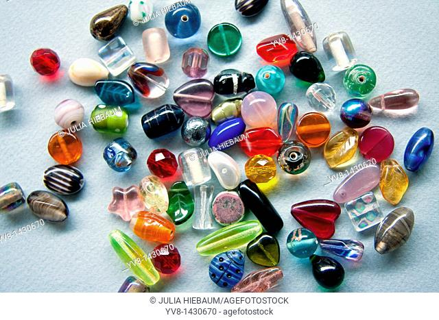 Colorful Glass Beads